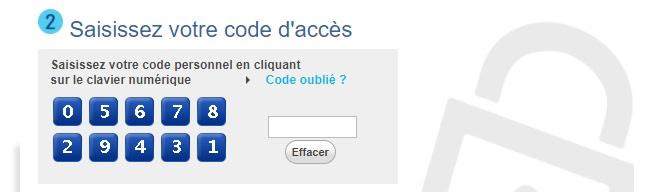 lcl particulier code personnel secret mot de passe